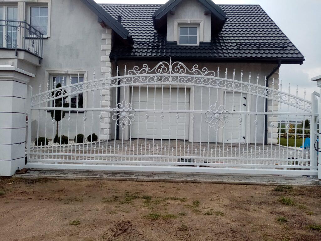Brama kuta, wzór indywidualny klienta
